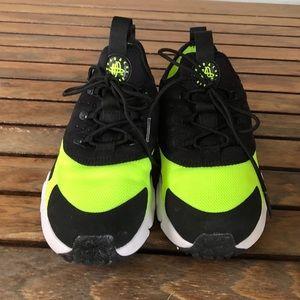 0f482b810d Nike Shoes - NIKE AIR HUARACHE DRIFT BLACK VOLT PRESCHOOL SHOES